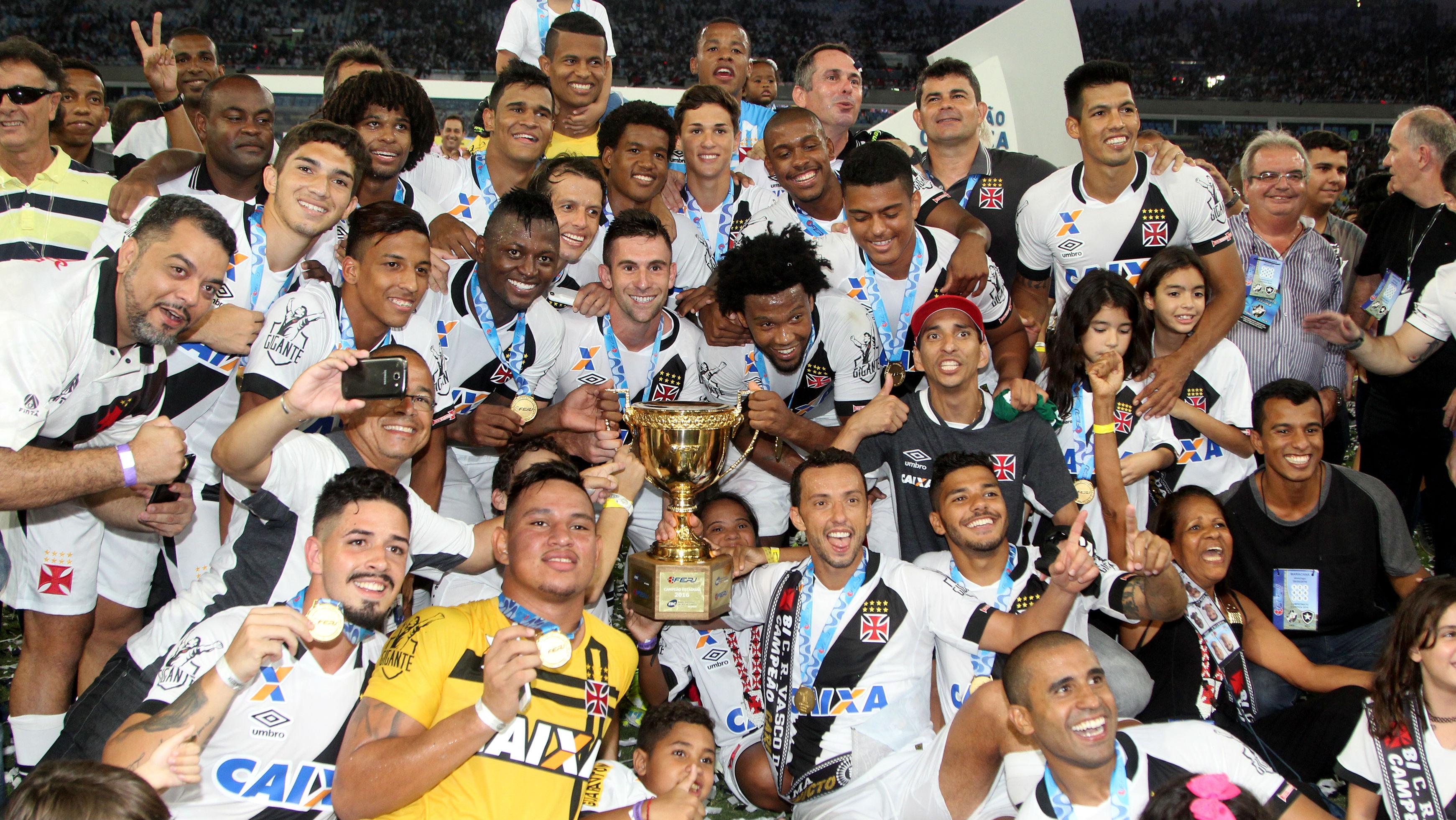Vasco campeão carioca 2016 08052016