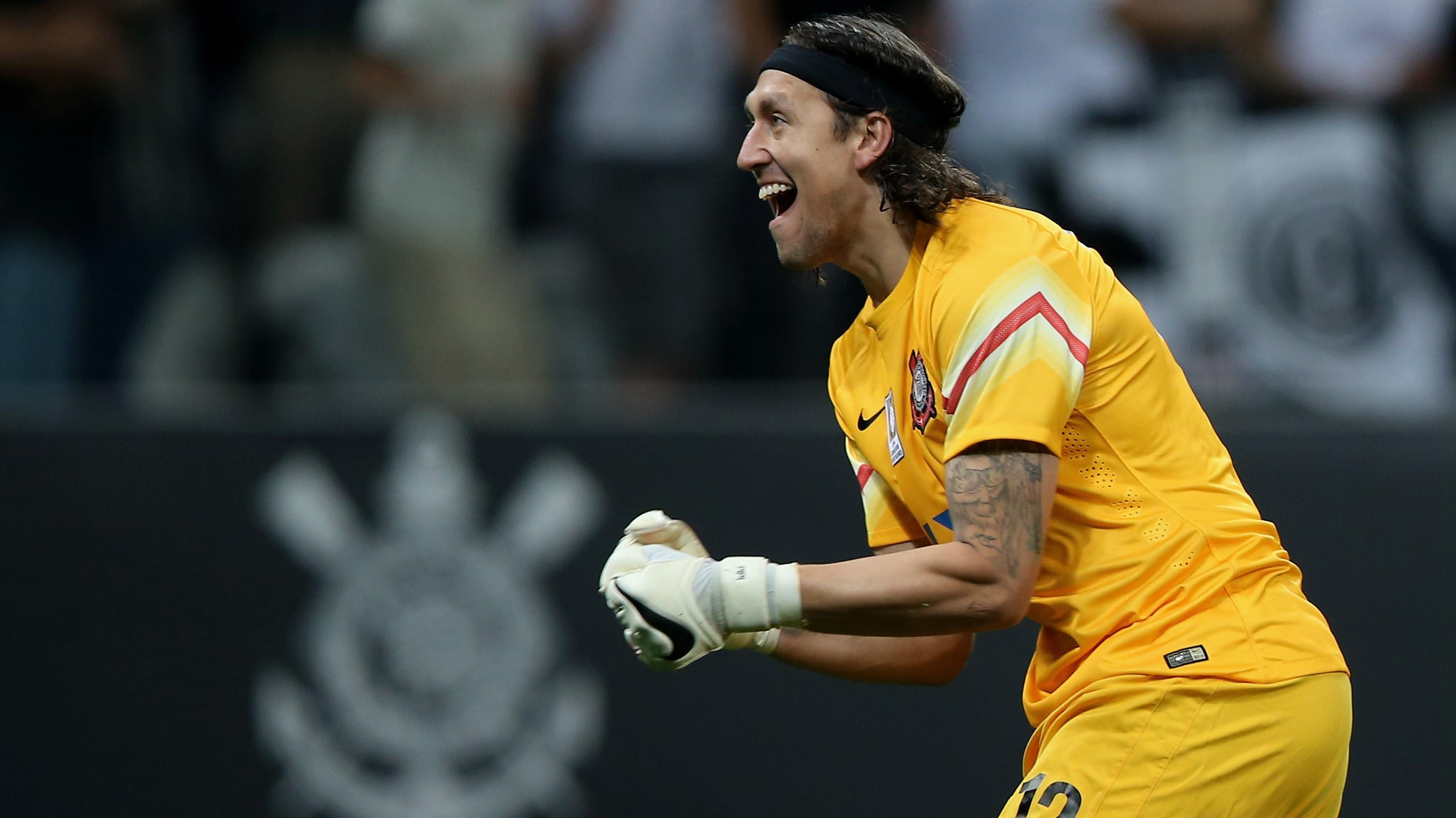 Mesmo na reserva no Corinthians, Tite diz que Cássio está nos planos da Seleção Brasileira