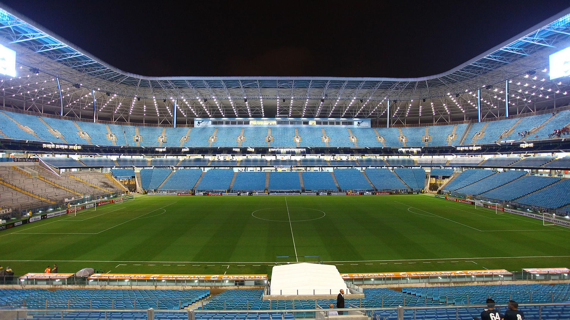 Arena do Grêmio view San Lorenzo Copa Libertadores 03092016