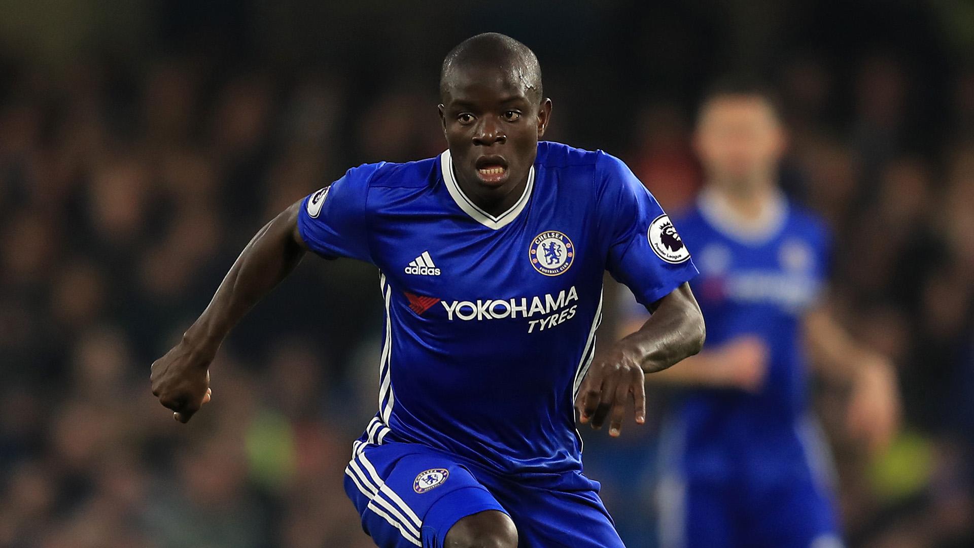N'Golo Kante Chelsea 2016/17