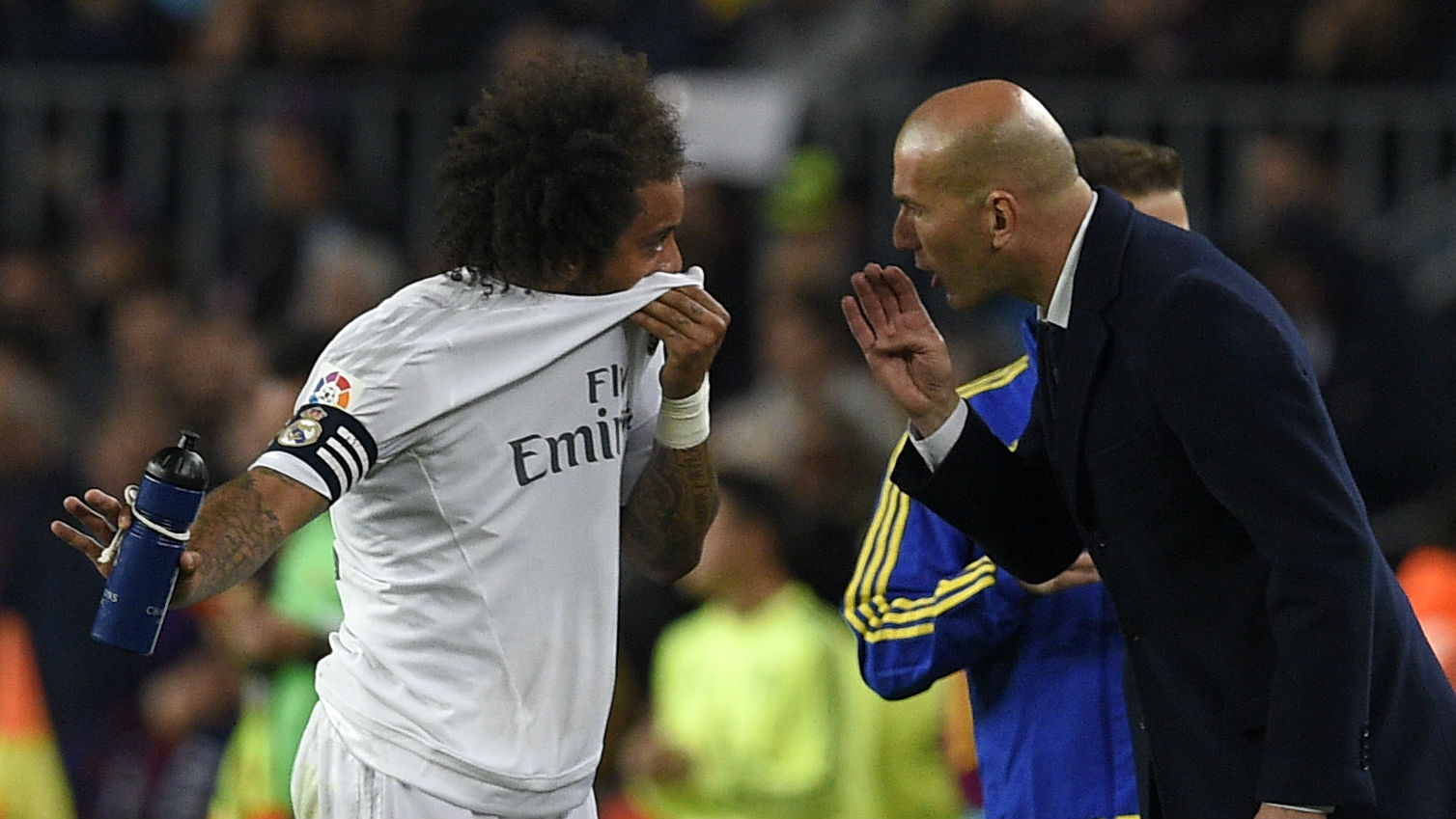 Marcelo Zidane Real Madrid 04042016