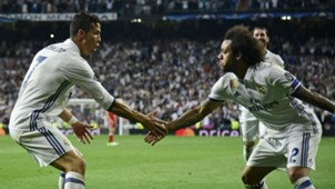 Marcelo Cristiano Ronaldo Real Madrid Bayern Munich UCL 18042017