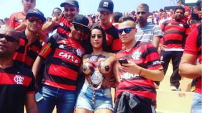 Kamilla Barzagli torcedora Flamengo