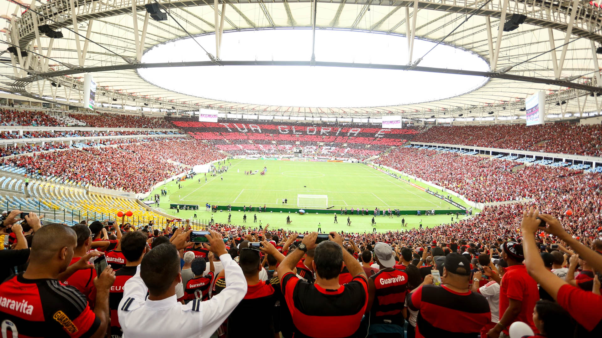 Maracanã Torcida Flamengo x Corinthians Brasileirão 23 10 16