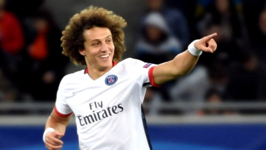 David Luiz Shakhtar PSG Champions League 30092015