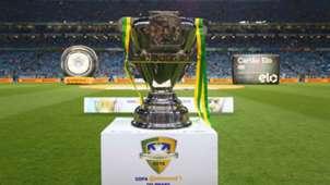 Copa do Brasil trofeu Arena Gremio 08122016