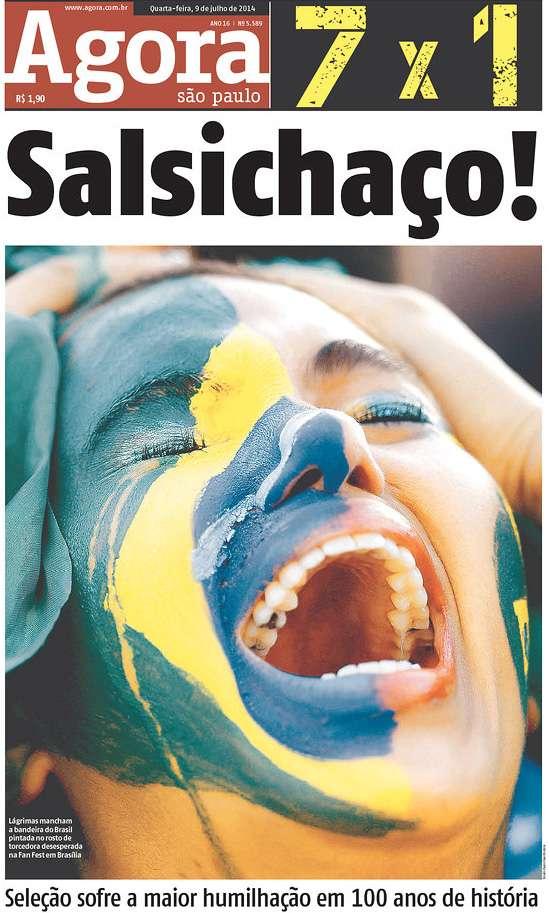 Capas 7 a 1 Agora São Paulo SP