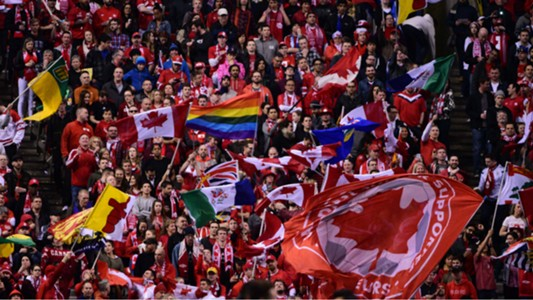 BC Place fans Canada Mexico FIFA World Cup qualifier 03252016