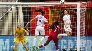 Claire Rafferty Kadeisha Buchanan England Women Canada Women 2015 Women's World Cup 20150627