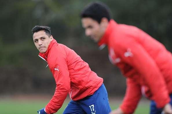 Último entrenamiento del Arsenal