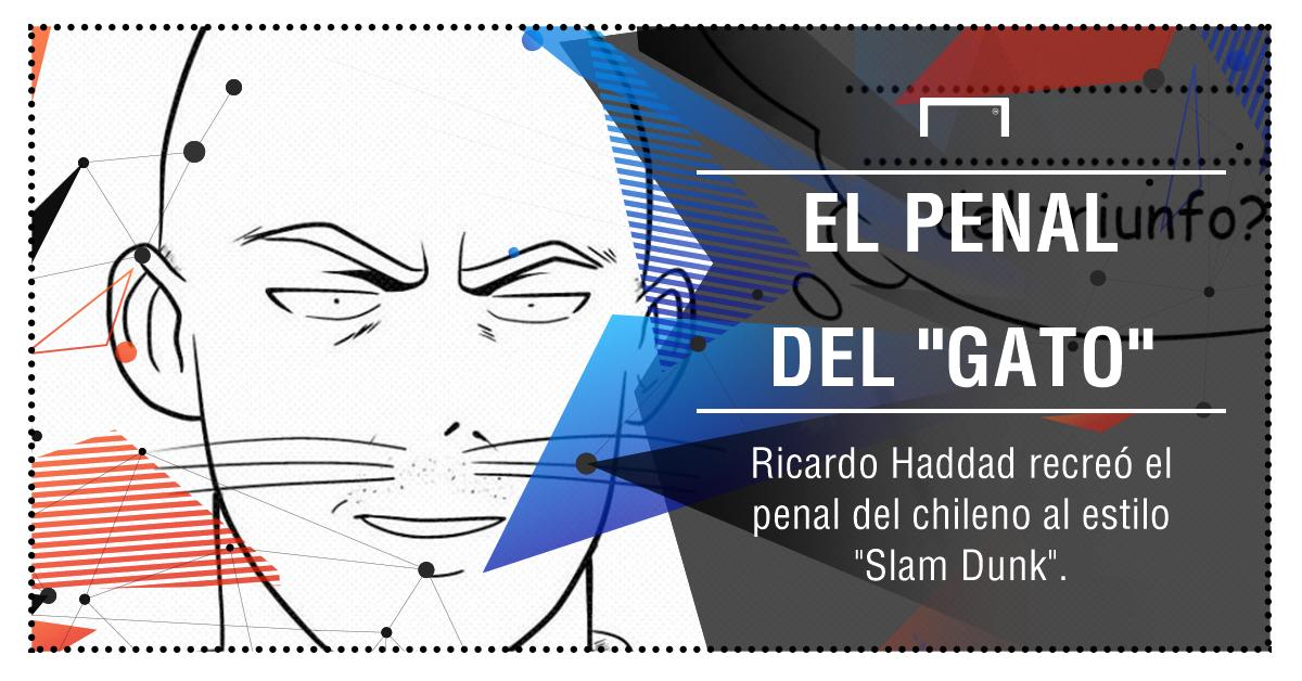 Al estilo Slam Dunk: el comic del penal del Gato Silva