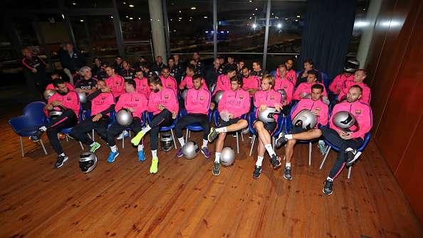 Lionel Messi y Barcelona se divierten en el karting
