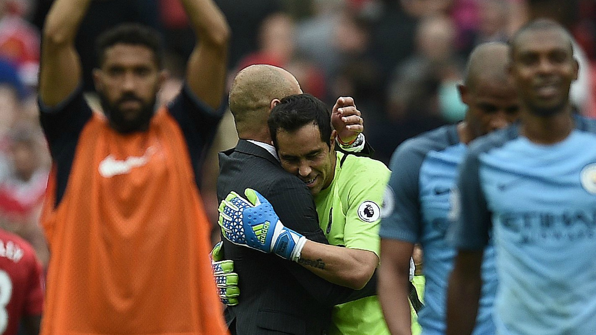 Claudio Bravo - Pep Guardiola