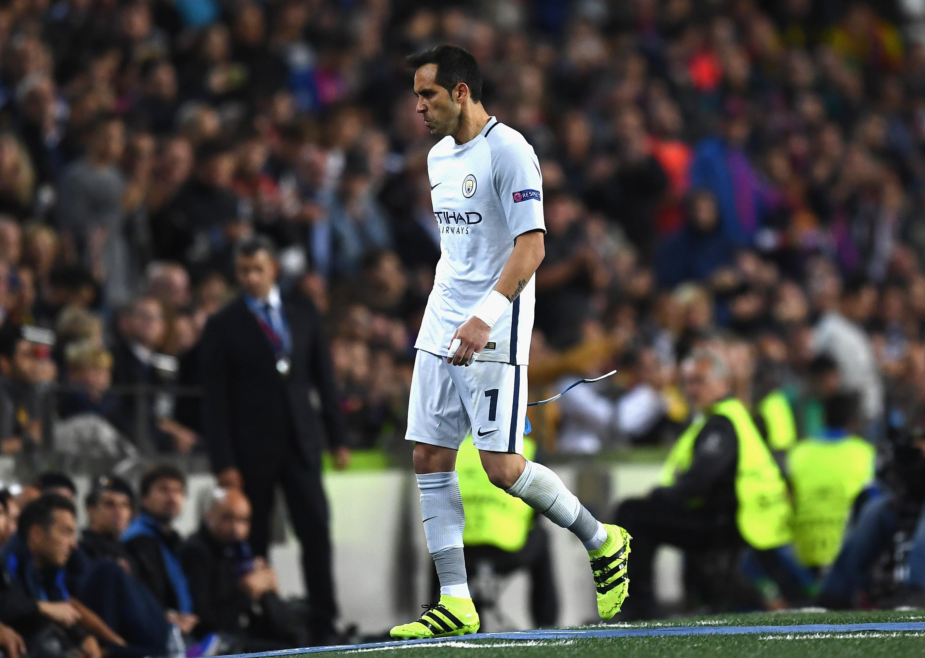 Bravo, expulsado ante Barcelona