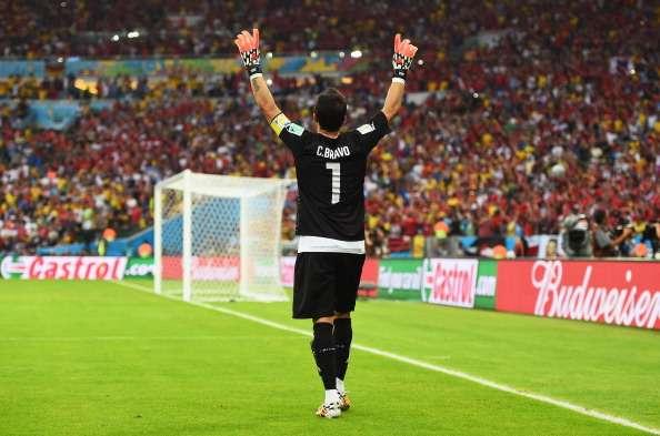 Claudio Bravo - Selección Chilena