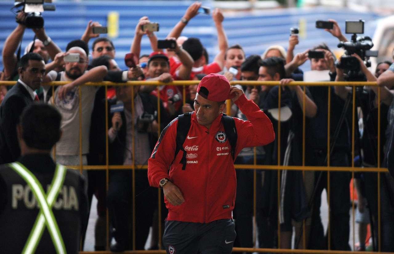 La Roja en Montevideo