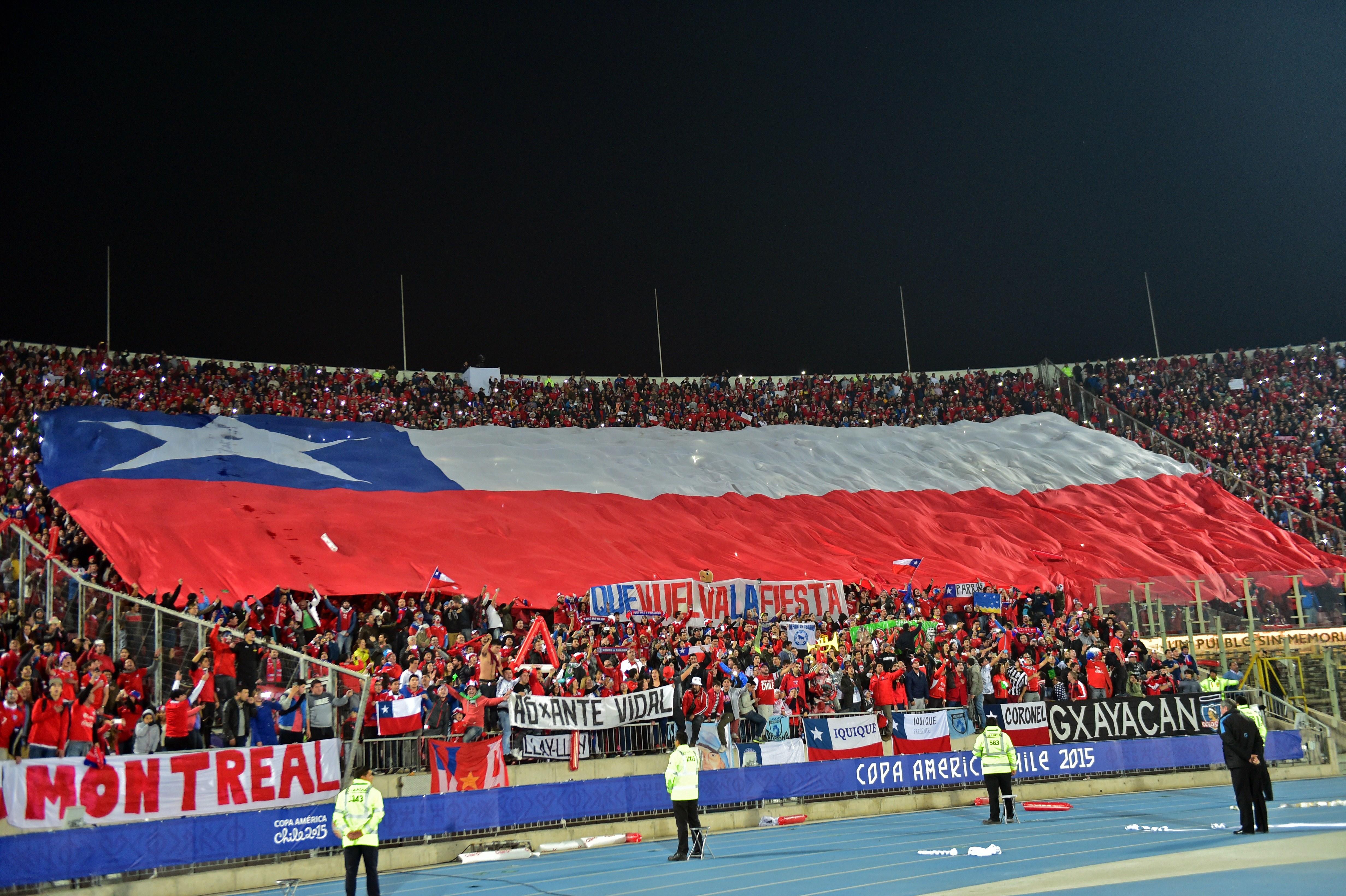 Selección chilena - Chile vs. Bolivia 190615