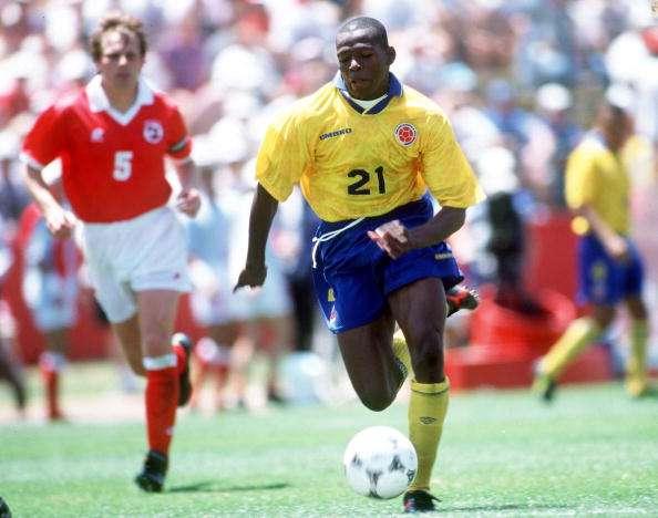 Faustino Asprilla: el colombiano nació el 10 de noviembre de 1969.