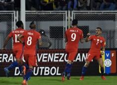 Mauricio Pinilla - Alexis Sánchez - Chile - La Roja - Selección chilena