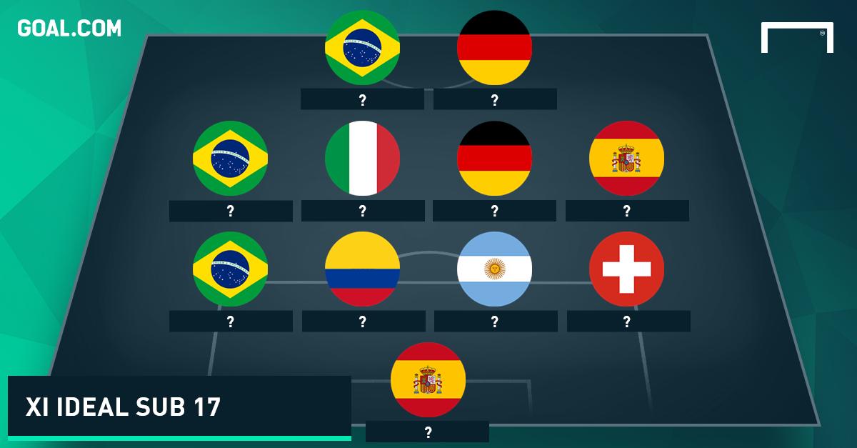 Figuras de un Mundial sub 17