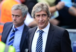 José Mourinho y Manuel Pellegrini.