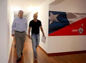 Jorge Sampaoli y Arturo Salah