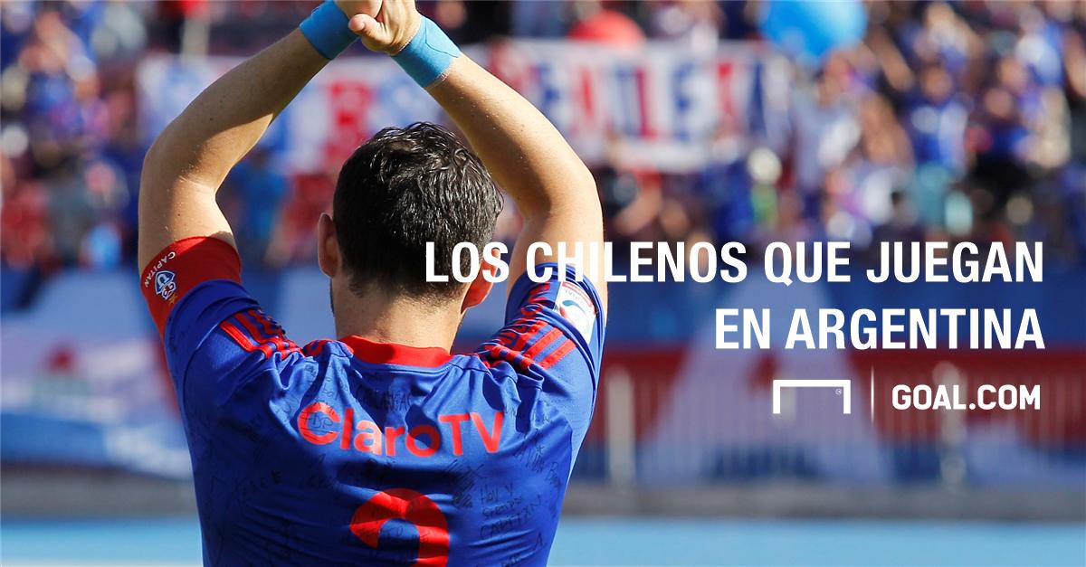 Los futbolistas chilenos que juegan en Argentina