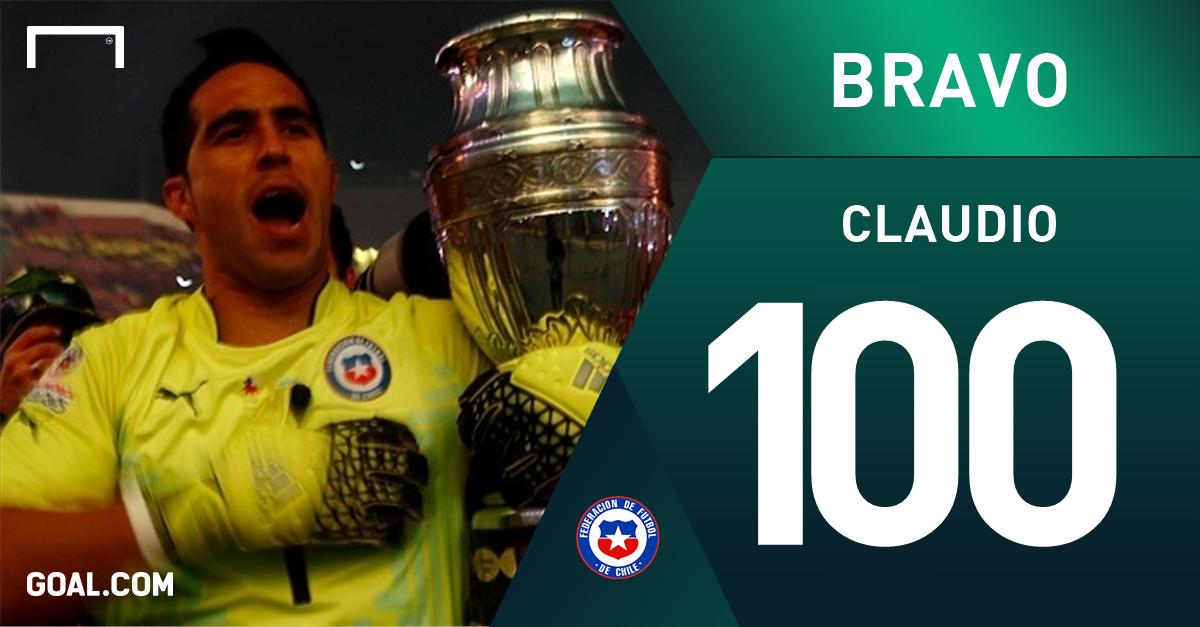 Claudio Bravo 100