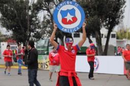 Hinchas chilenos - Cile - La Roja