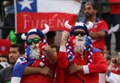 Hinchas chilenos - Chile - La Roja - selección chilena