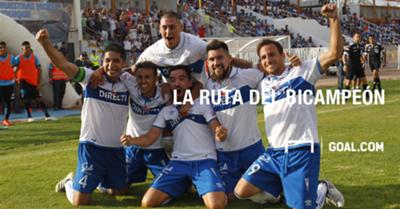 La ruta del bicampeón del fútbol chileno