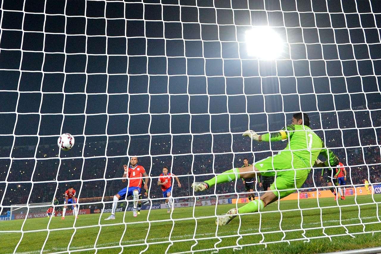 selección chilena - Chile vs. México 150615