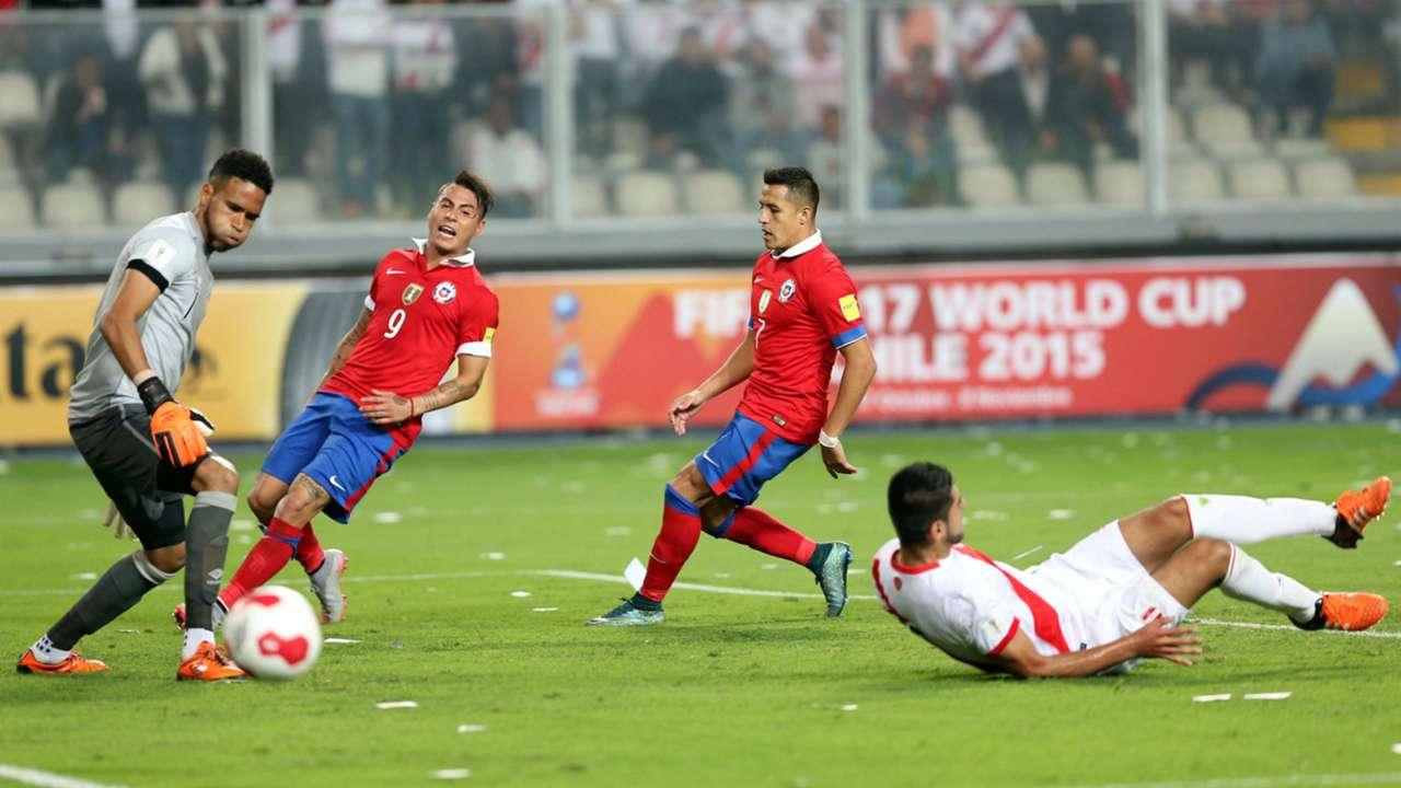 GALERÍA: Perú 3-4 Chile
