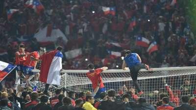 La celebración del campeón