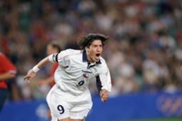 Zamorano en los Juegos Olímpicos de Sydney 2000