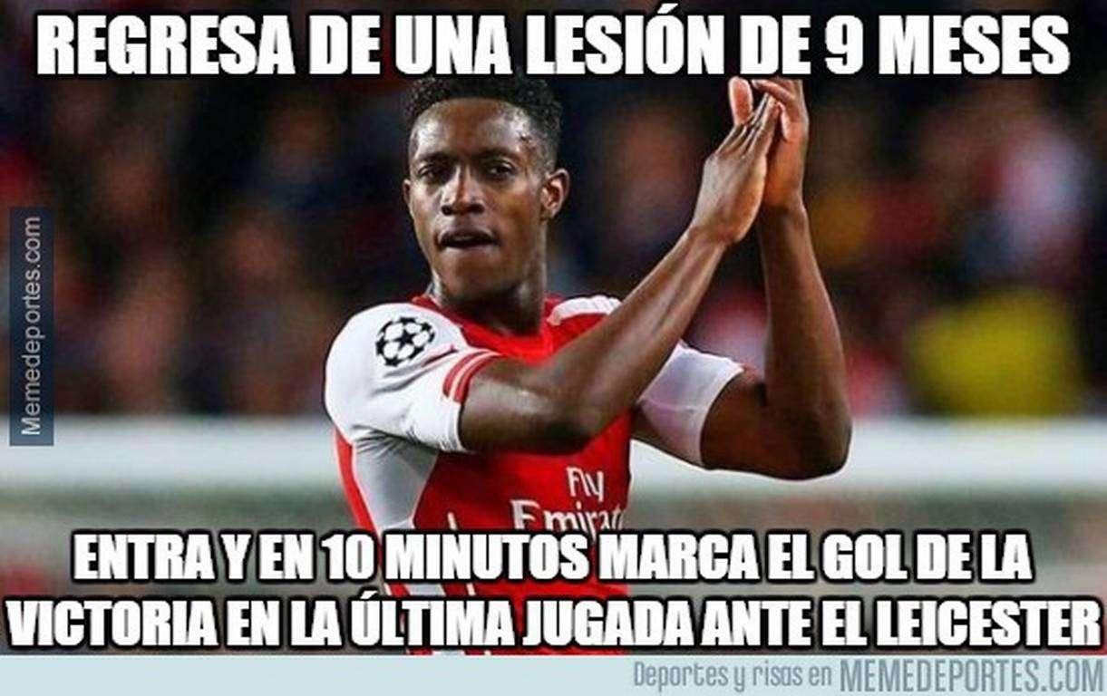 Los memes que dejó la victoria del Arsenal