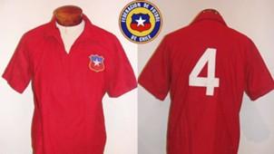 Camisetas historicas Chile