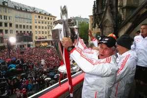 Jupp Heynckes celebra con la Champions en 2013.
