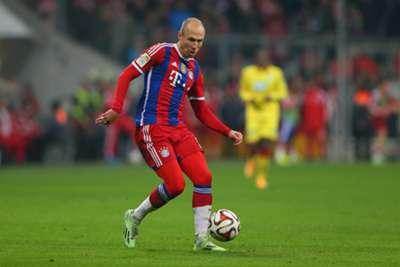 Arjen Robben. Volante. Bayern Munich.