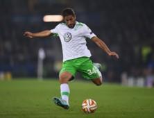 Ricardo Rodríguez con la camiseta de Wolfsburgo.