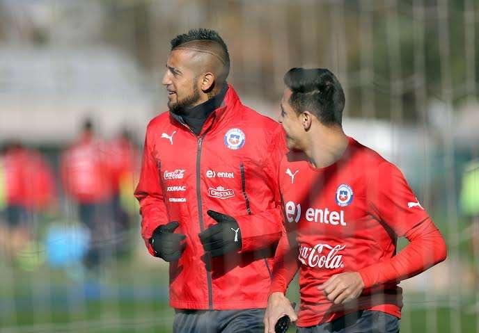 La Roja entrenó tras su debut ganador