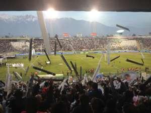 El estadio Monumental de Colo Colo.