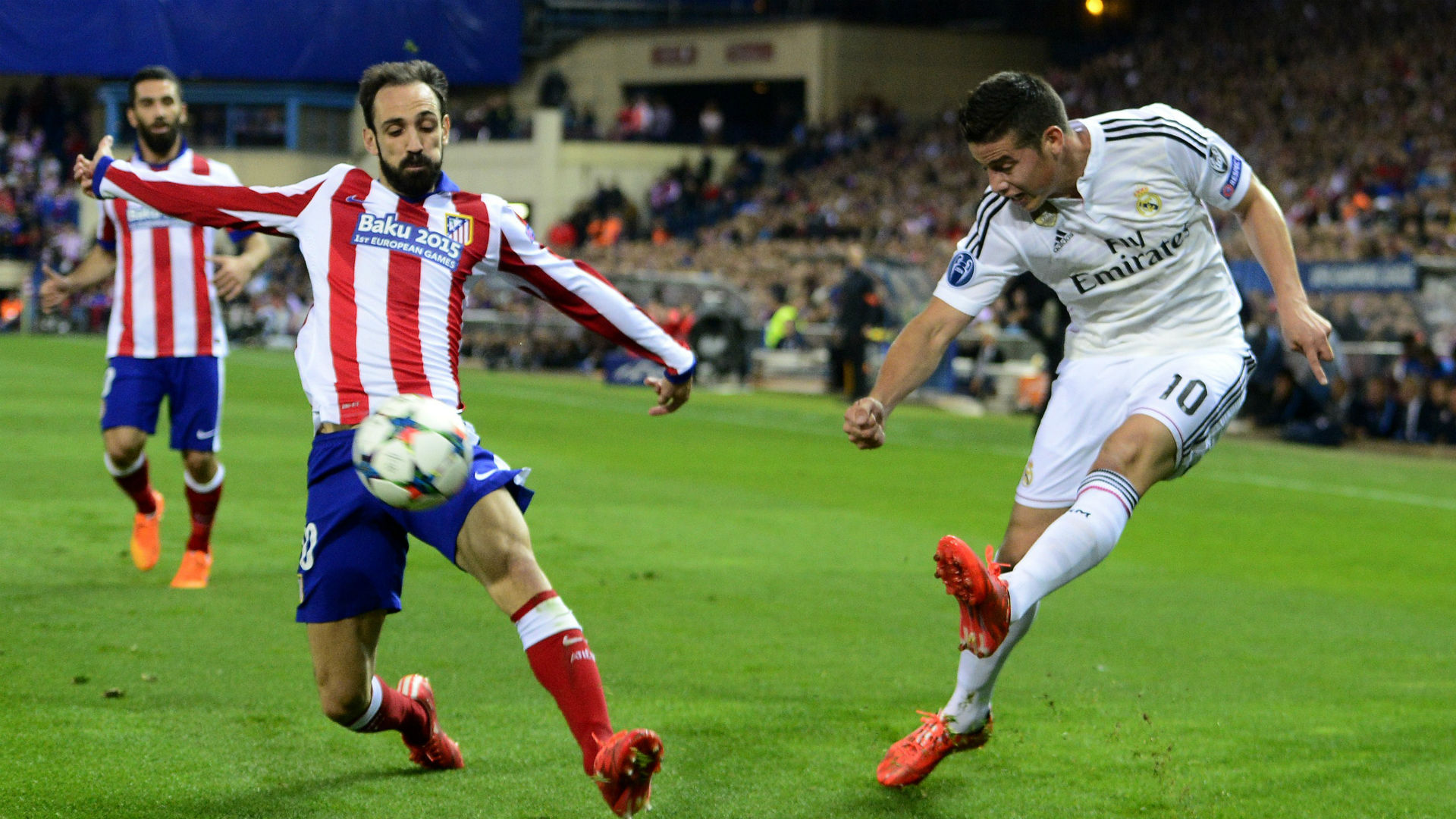James Rodríguez Real Madrid vs Atlético