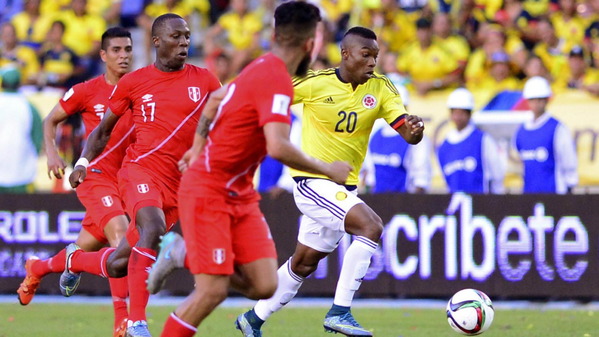 Fabián Castillo - Selección Colombia