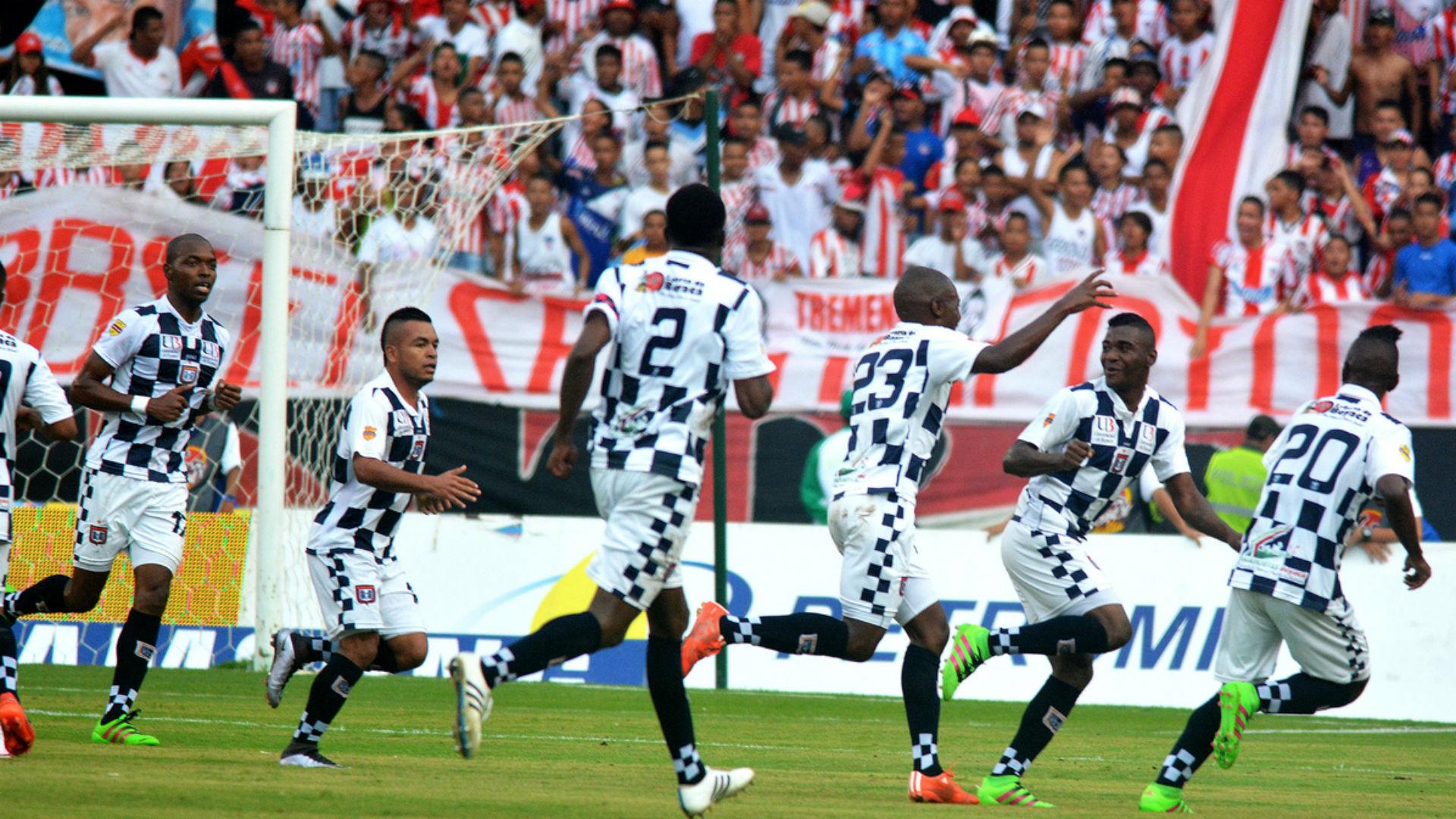 Junior vs Boyaca chicó gol 2016