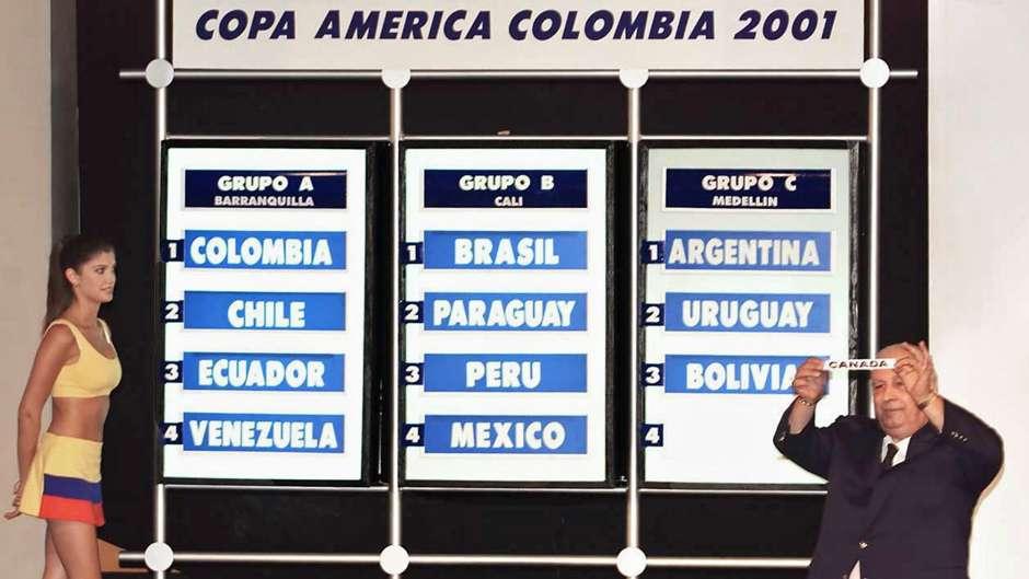 Resultado de imagen para copa america 2001 argentina no va