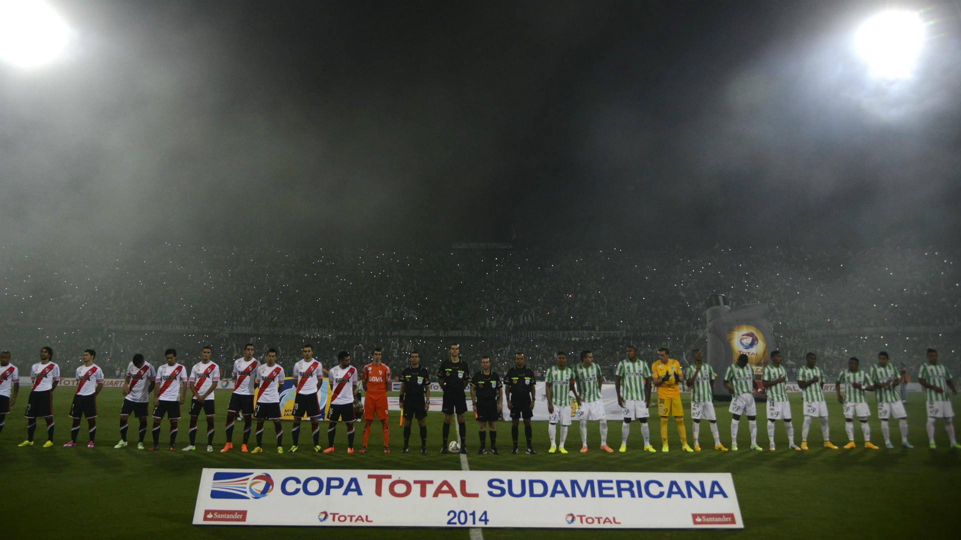 River y Nacional final ida Copa Sudamericana 2014