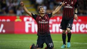 Carlos Bacca Milán vs Sassuolo / SERIE A 2016-2017