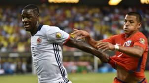 Cristian Zapata & Alexis Sánchez Colombia vs Chile Copa América 2016