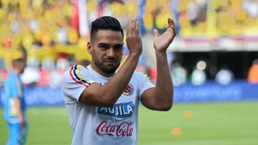 Radamel Falcao Colombia vs Chile Eliminatoria 10112016